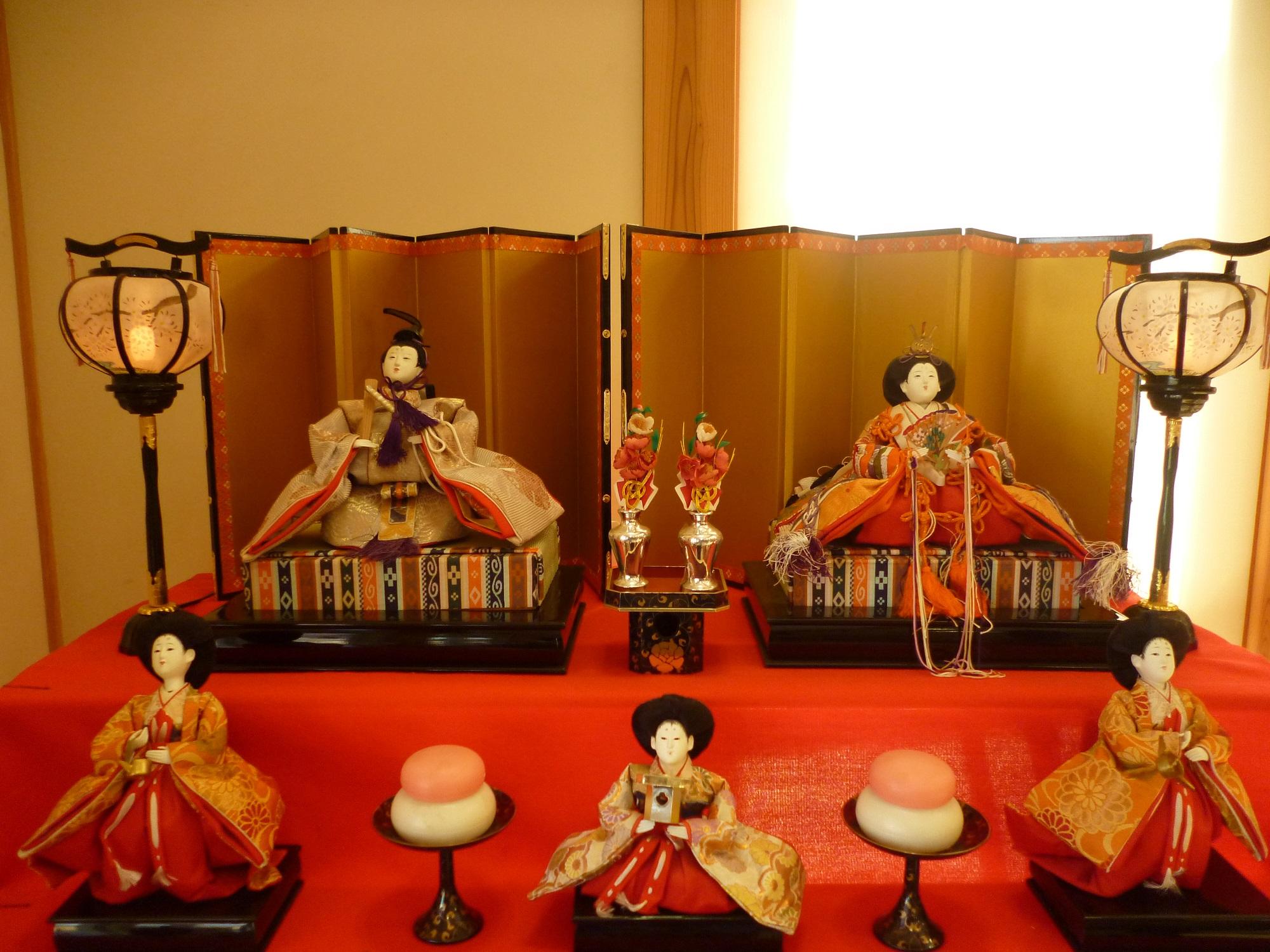 3月行事「雛人形・七段飾」