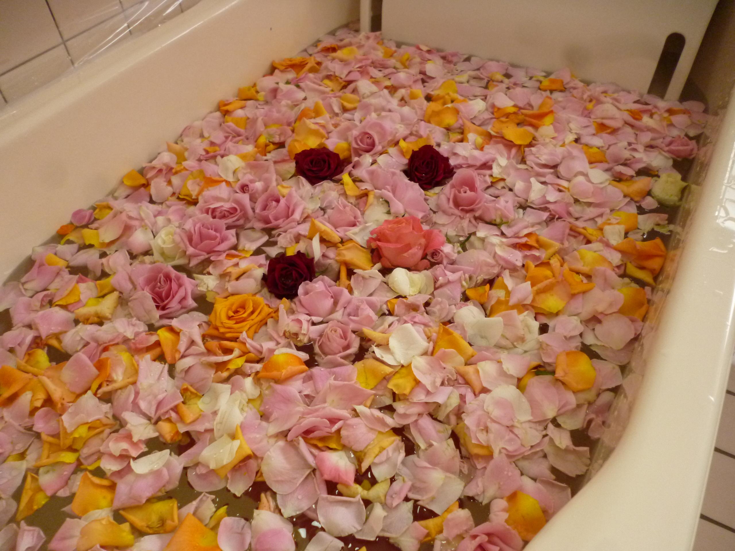 6月行事 バラ風呂